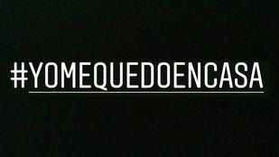 Celebridades de todo el país se unen a la iniciativa #yomequedoencasa