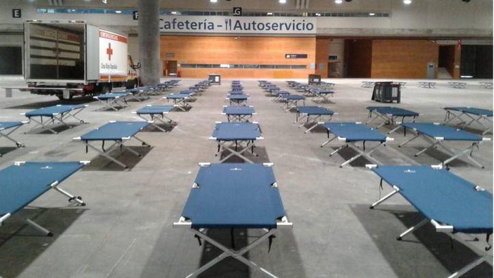 Habilitadas 150 plazas para personas sin hogar asintomáticas en Ifema