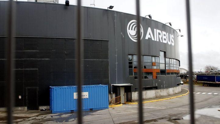 Airbus suspende la producción en España y Francia durante cuatro días