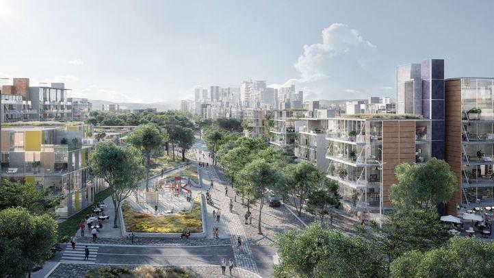 La Comisión de Urbanismo redacta un informe favorable unánime sobre Madrid Nuevo Norte