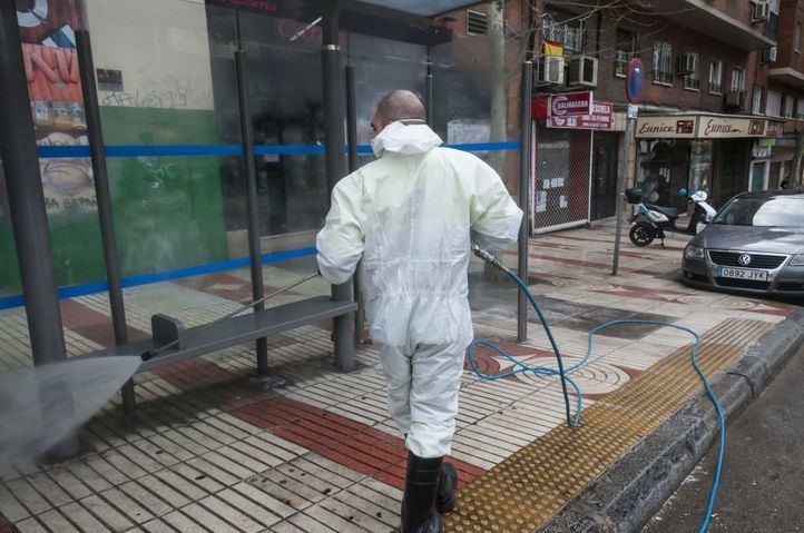 Madrid no será desinfectada