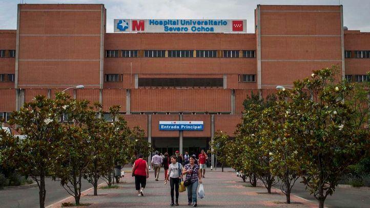 Hospital Universitario Severo Ochoa de Leganés en una foto de archivo.