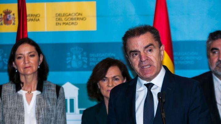 José Manuel Franco, en la toma de posesión del cargo de delegado del Gobierno en Madrid.
