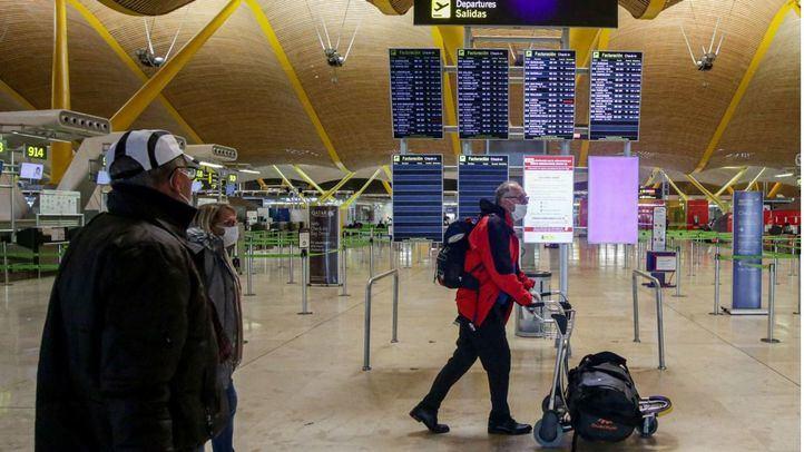 Vuelos en el Aeropuerto Madrid-Barajas Adolfo Suárez.
