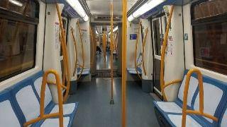 La EMT registró ayer una caída de viajeros del 88'9% y Metro supera el 80%