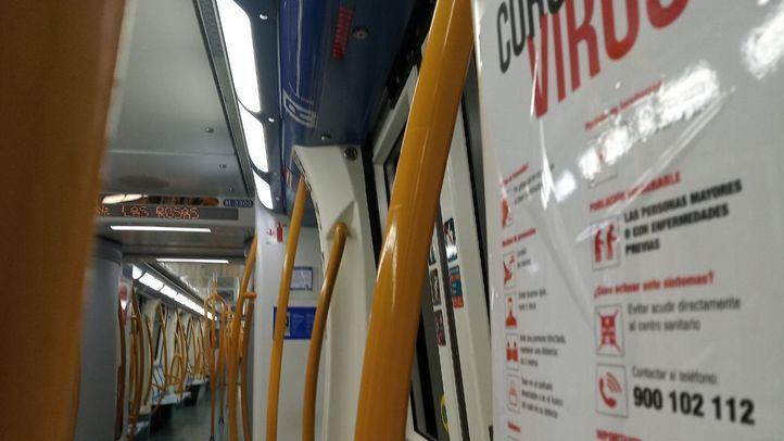 Una veintena de trabajadores de Metro da positivo en coronavirus