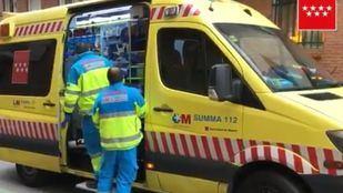 Herido muy grave un hombre de 81 años en Pozuelo por inhalar humo tras un incendio en su vivienda