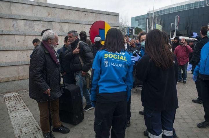 Madrid ampliará el albergue para hombres sin hogar en Ifema