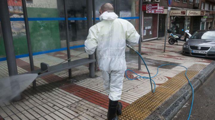 El Ayuntamiento desinfectará las calles de Madrid cuando cuente con equipos
