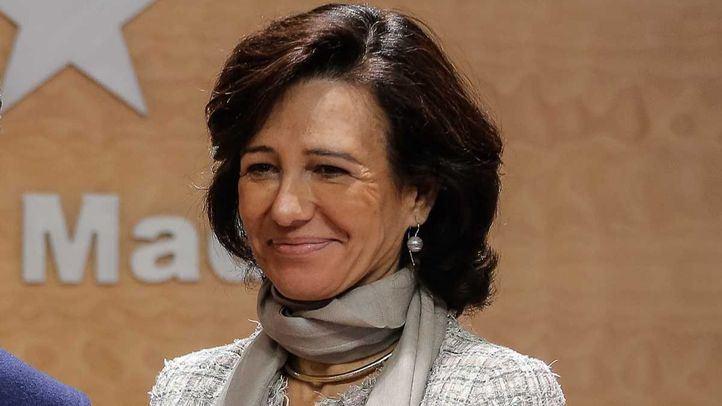 Ana Patricia Botín, presidenta del Banco de Santander.