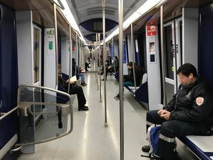 Metro adelanta desde hoy su horario de cierre