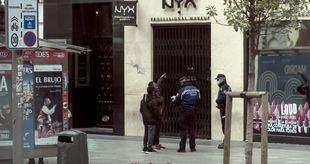 Policía Municipal de Madrid interpuso ayer 685 multas, detuvo a 5 personas e interceptó 15 coches