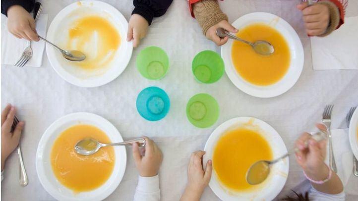 Hasta 500 niños de escuelas infantiles con beca comedor recibirán en su casa un menú saludable