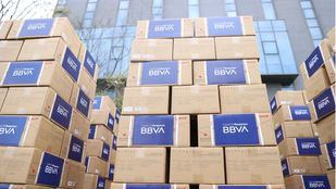 BBVA destinará 25 millones de euros a compra de material sanitario e investigación científica contra el coronavirus.