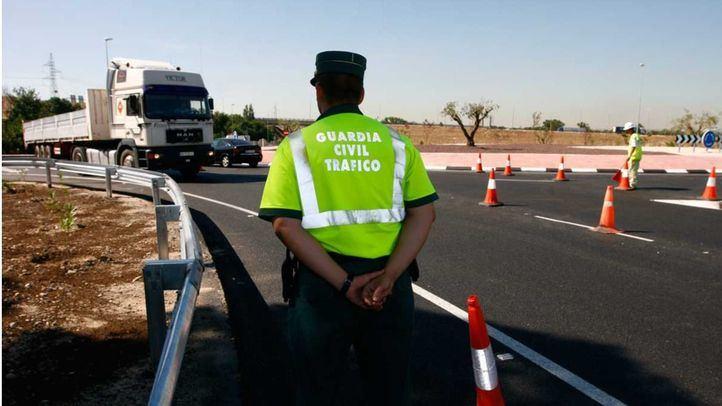 Atropellado de gravedad un guardia civil en un control de tráfico en la A-42