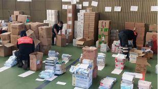 Así gestiona Madrid las donaciones para hacer frente al coronavirus