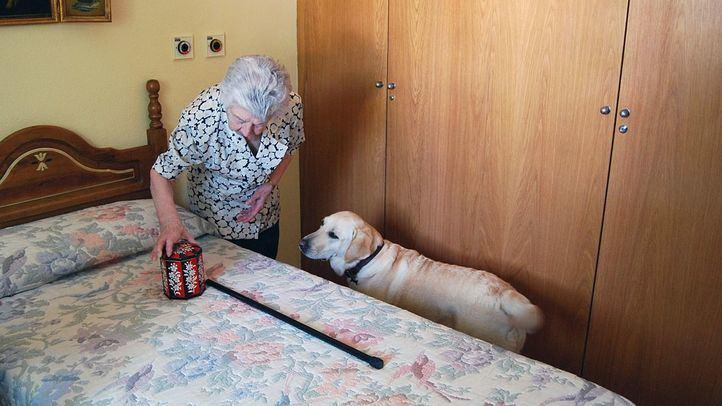 Un teléfono para paliar la soledad de los mayores en cuarentena