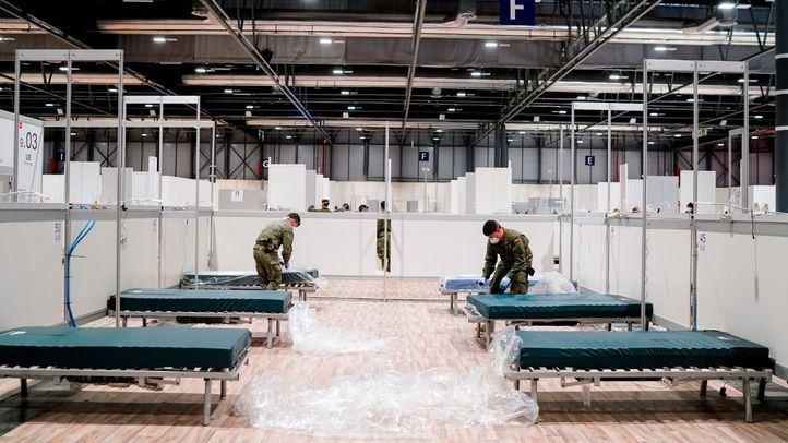 El pabellón 9 es habilitado para formar parte del hospital de Ifema