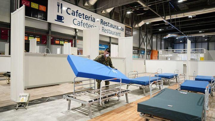 El hospital de Ifema llegará a su máxima capacidad entre el domingo y el martes
