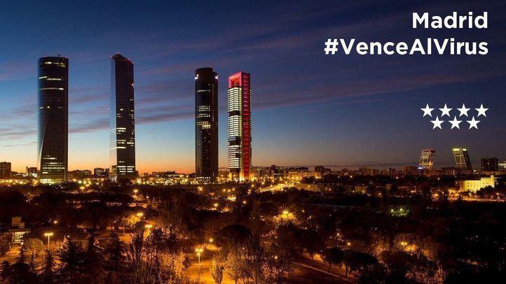 Cartel del hackathon virtual Madrid #VenceAlVirus