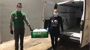 Mercadona seguirá donando productos de primera necesidad al comedor Manos de ayuda social
