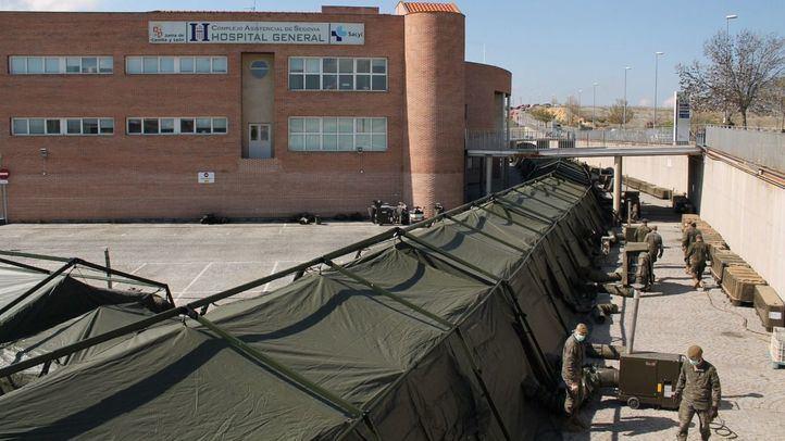 Hospital de campaña de Segovia