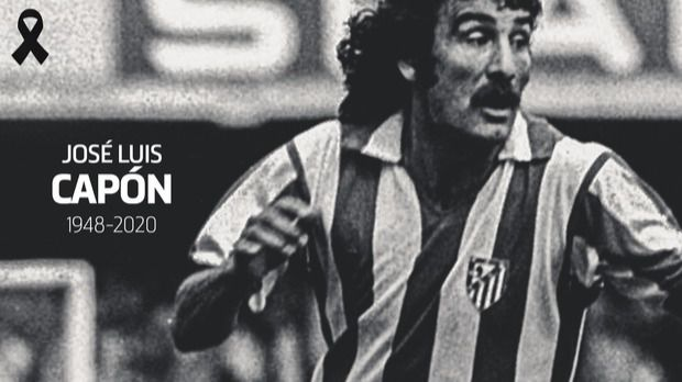 El Atlético de Madrid despide al exfutbolista José Luis Capón