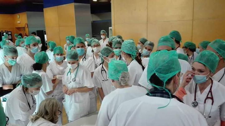 CC.OO. denuncia las condiciones en las que trabajan los sanitarios del Hospital de Ifema