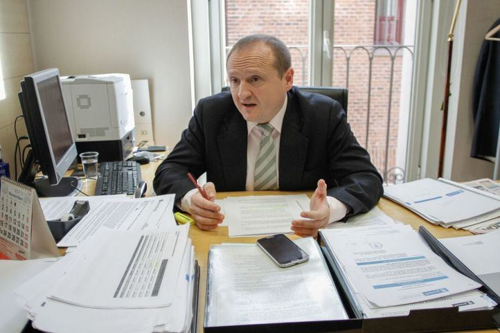 Miguel Ángel Redondo, delegado de Economía, Innovación y Empleo del Ayto de Madrid