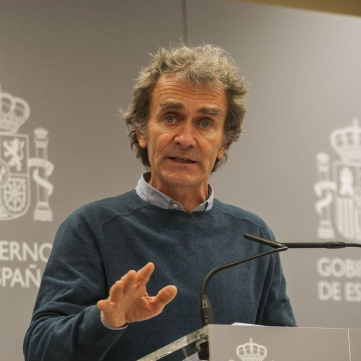 Fernando Simón, positivo por coronavirus