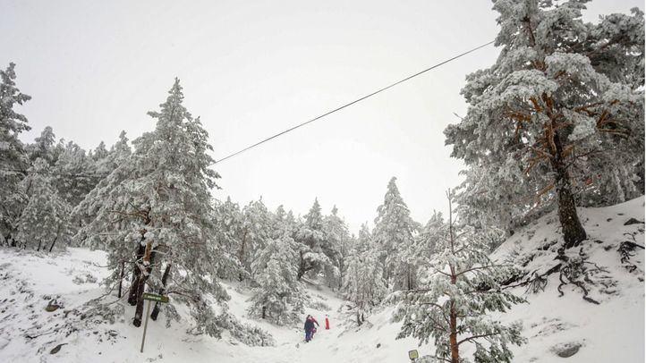 Alerta amarilla por nieve este martes por la mañana en toda la región