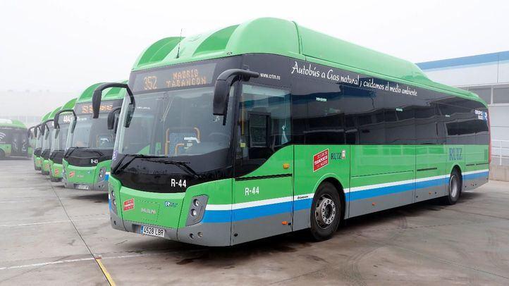 La Comunidad mantiene las frecuencias de autobuses para 28 municipios con menos de 500 habitantes