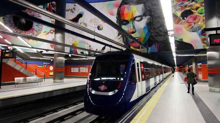 Cierre en Metro entre Arganda del Rey y la Poveda