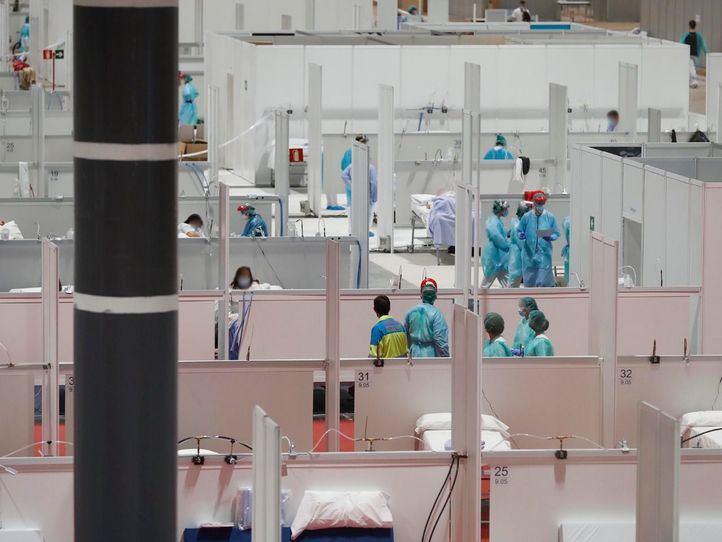 El hospital de Ifema amplía sus camas funcionales de 825 a 1000