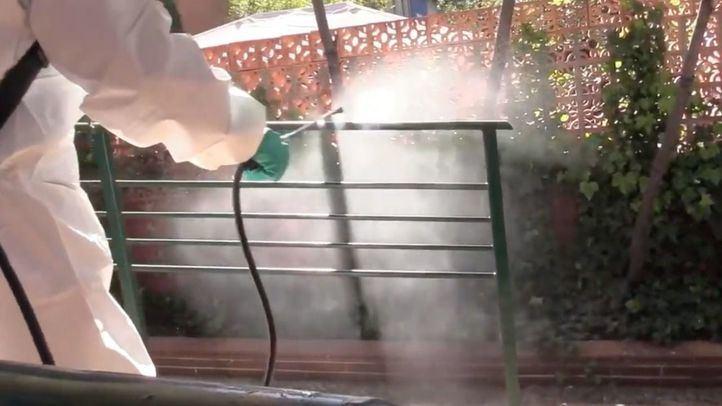 Bomberos de Madrid han desinfectado ya 17 residencias de mayores