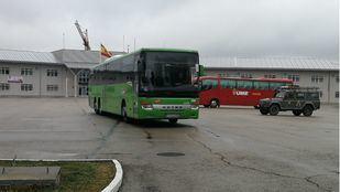 Alsa cede autobuses a la UME para el traslado de enfermos
