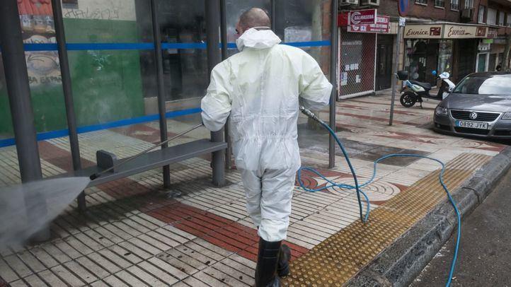 Más del 80% de los municipios han desinfectado sus calles