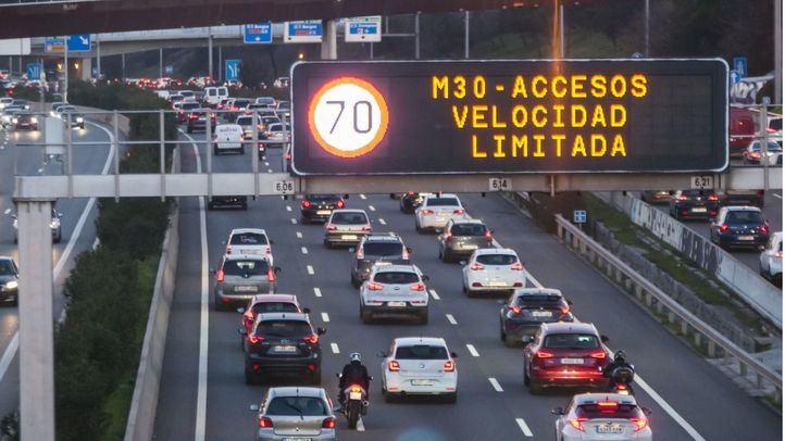 El tráfico cae en la región hasta el 79%, 8 puntos más que hace una semana