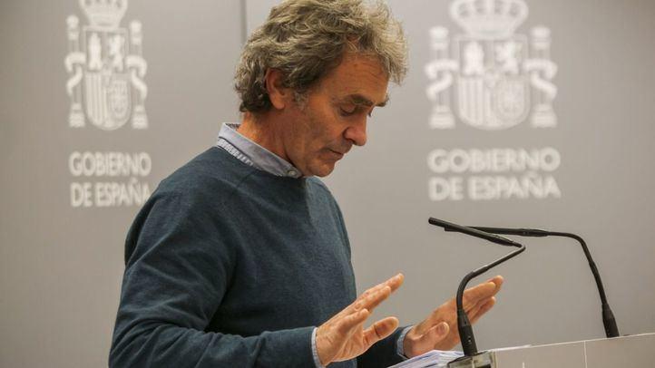 Simón declara que España puede haber llegado al pico de la curva de contagios