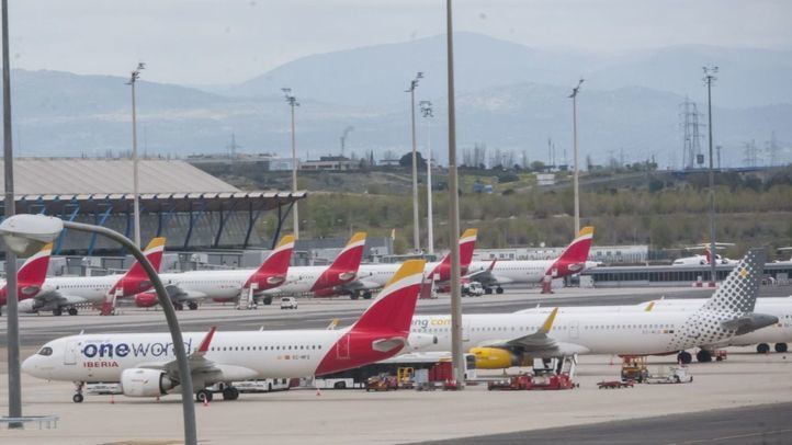 Llega a Madrid el material donado por el presidente de Huawei