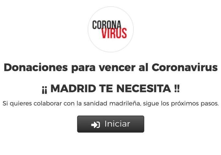 La página web de donaciones de la Comunidad de Madrid alcanza los 10 millones