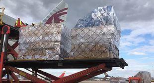 El segundo avión con material sanitario comprado por la Comunidad llegará el domingo
