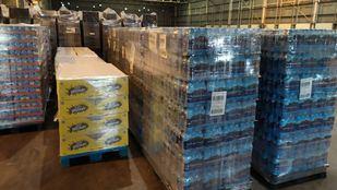 Mercadona entrega 40 toneladas de alimentos de primera necesidad a entidades sociales de Madrid