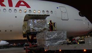 El Corredor Aéreo Sanitario importa 30 toneladas más de material desde China