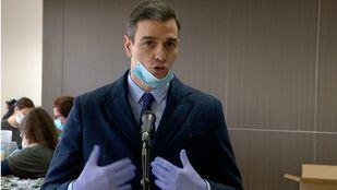 Sánchez visita la empresa que fabricará 5.000 respiradores