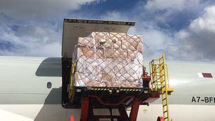 Llega a Barajas el segundo avión que anunció Ayuso procedente de China