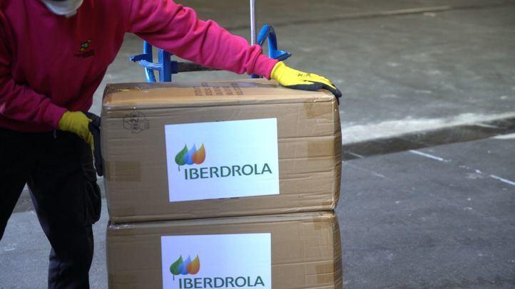 Iberdrola reparte 8.000 mantas entre hospitales de campaña y residencias