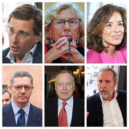 Almeida, Carmena, Botella, Gallardón, Álvarez del Manzano y Barranco, esta tarde en Onda Madrid