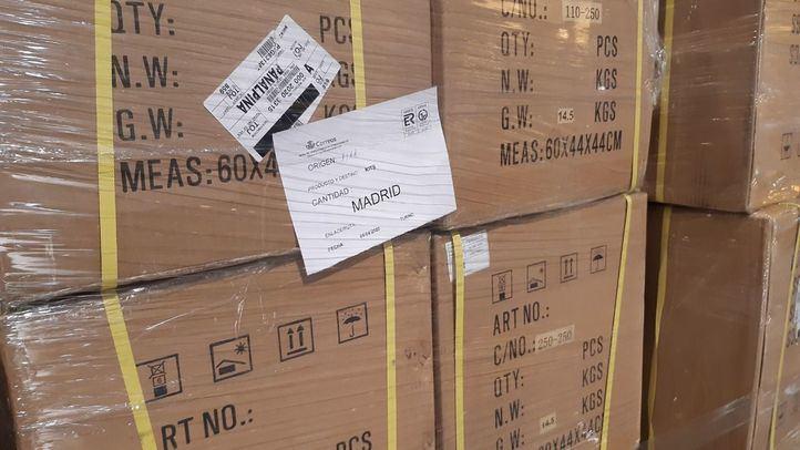 El Gobierno distribuye 206.400 test rápidos y 129.700 mascarillas en toda la región