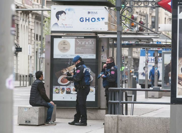 La Policía Nacional interpuso ayer 835 denuncias y detuvo a 20 personas